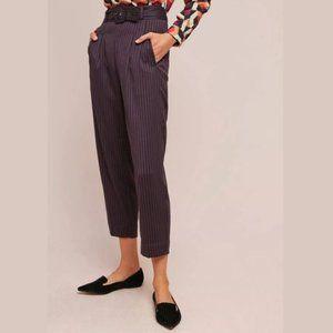 Anthropologie Cartonnier Linework Stripe Trousers
